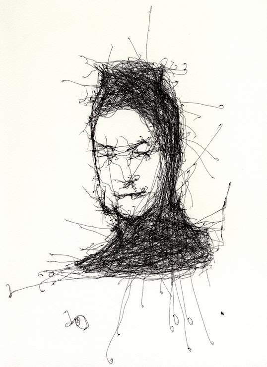 Human Study #1 3RNP ©Patrick Tresset