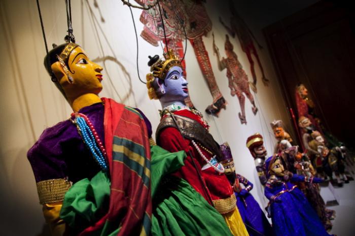 Centre de la Marionnette - exposition