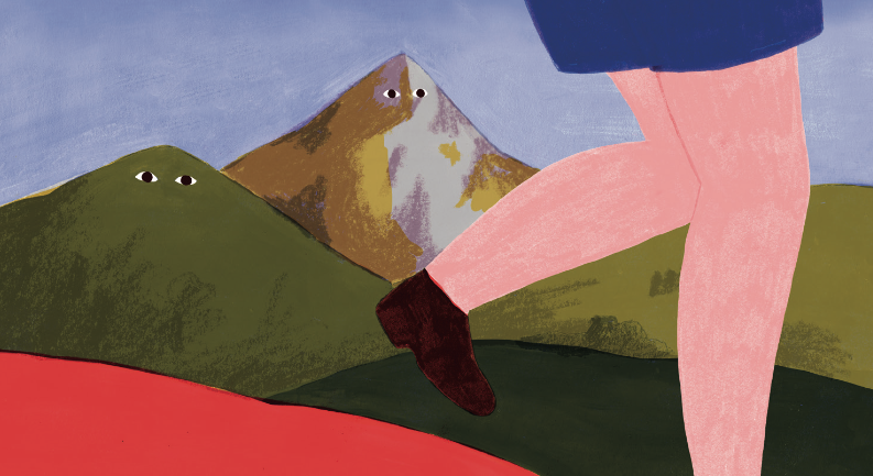 Au pied des Montagne ©Unetribucollectif
