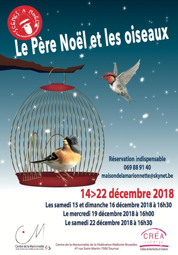 Le Père Noel et les oiseaux