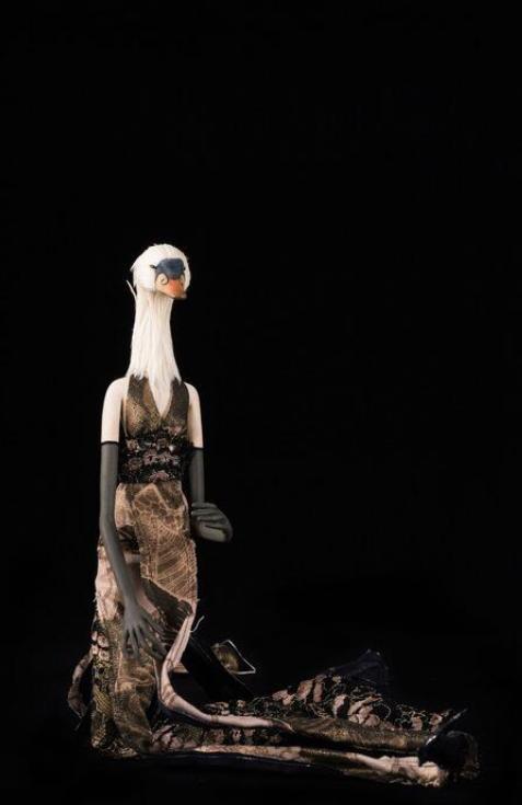 La Femme Cygne, marionnette de film d'animation - France 2009 ©MaisondelaMarionnette