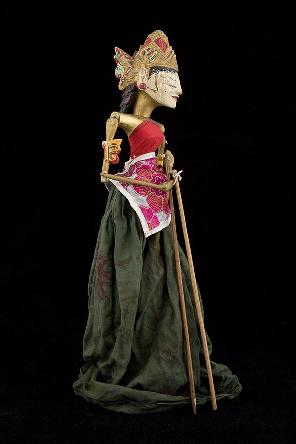 Wayang Golek d'Indonésie - 20ème siècle ©MaisondelaMarionnette