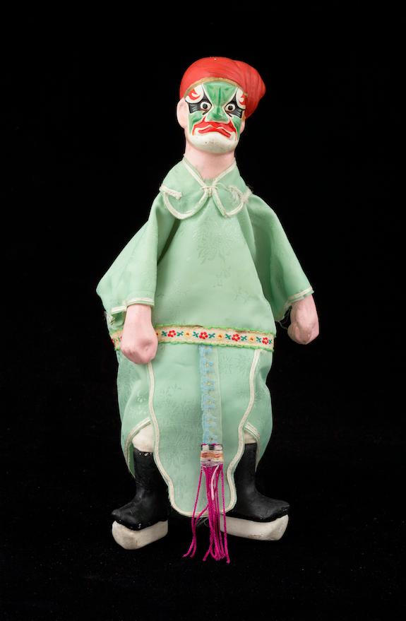 Marionnette à gaine - Chine, 20ème siècle ©MaisondelaMarionnette