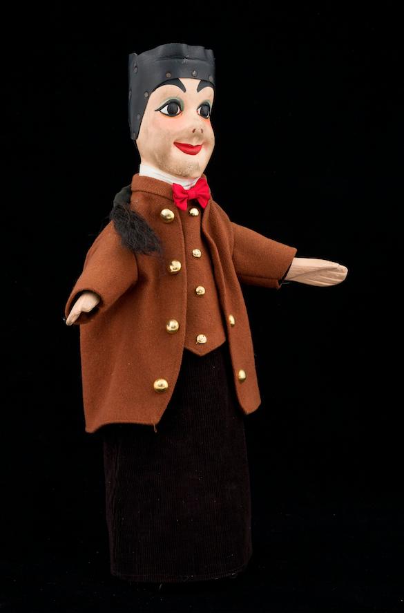 Guignol, marionnette Lyonnaise 20ème siècle  ©MaisondelaMarionnette