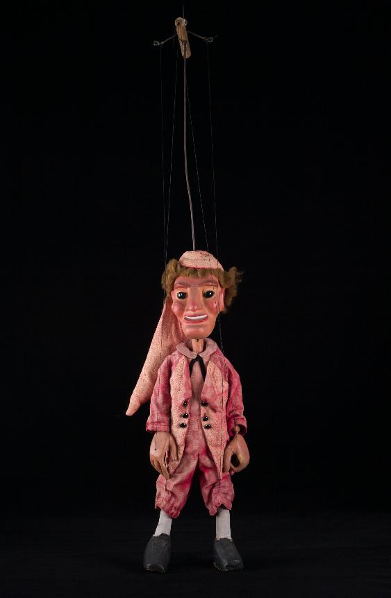 Jacques, marionnette à tringle tournaisienne du Créa-Théâtre, 20ème siècle ©MaisondelaMarionnette