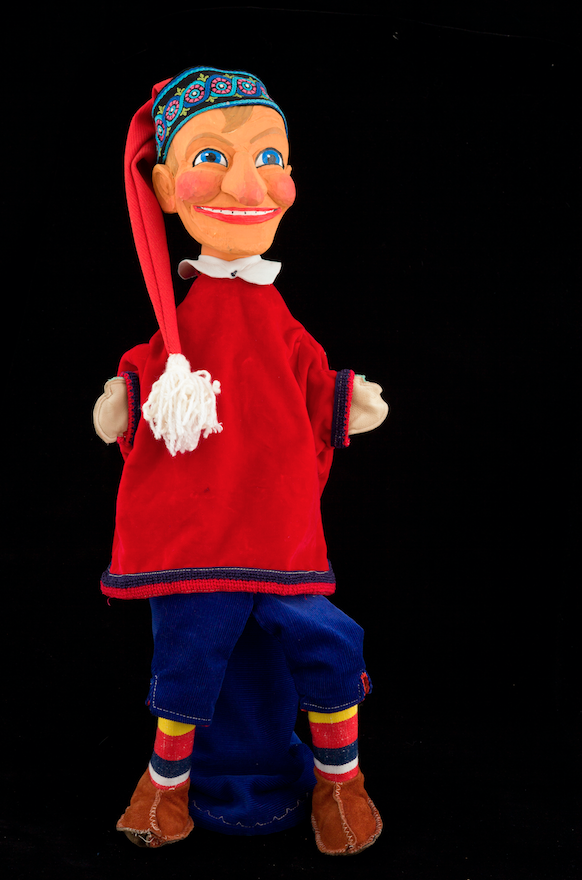 Kasperl, marionnette allemande 20ème siècle ©MaisondelaMarionnette