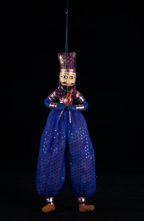 Marionnette Kathputli Inde 19ème siècle ©MaisondelaMarionnette