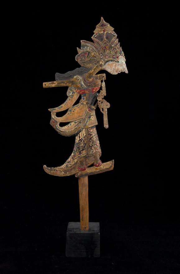 Marionnette clown wayang Klitik d'Indonésie 19ème siècle ©MaisondelaMarionnette