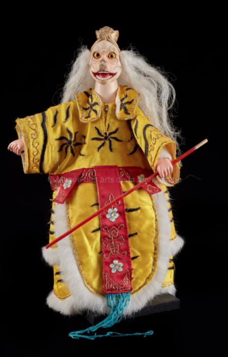 Le roi singe, marionnette à gaine - Chine, 2004 ©MaisondelaMarionnette