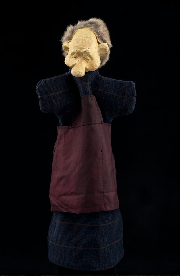 Marionnette à gaine du Magic Land Théâtre - Bruxelles 1983 ©MaisondelaMarionnette
