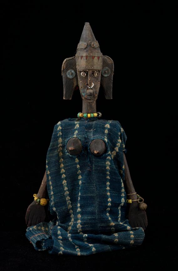Marionnette Sogo Bo Afrique - Mali, 2000 ©MaisondelaMarionnette