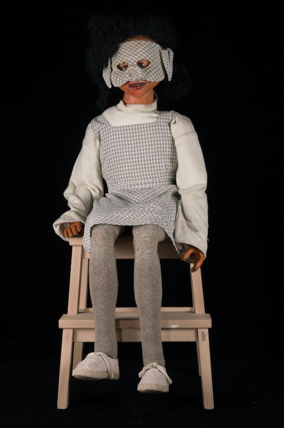 Marionnette du spectacle Le Meilleur des Rêves, du Créa-Théâtre - 1996  ©MaisondelaMarionnette