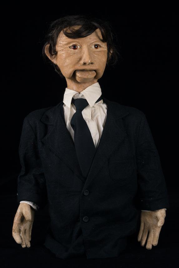 Marionnette du spectacle les Hommes du Lendemain, Créa-Théâtre - 1991 ©MaisondelaMarionnette