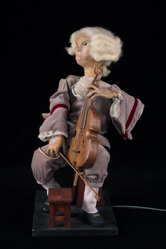 Marionnette du spectacle Il s'appelait Jean Sébastien, ou la Sève, du Créa-Théâtre - 1985©MaisondelaMarionnette