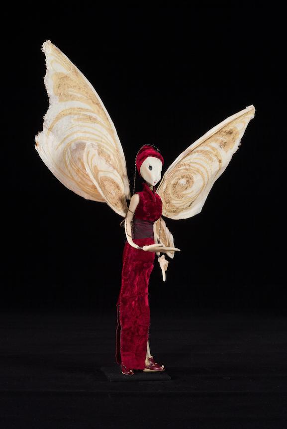 Marionnette du film La Femme Papillon - France et Bruxelles, 2003 ©MaisondelaMarionnette