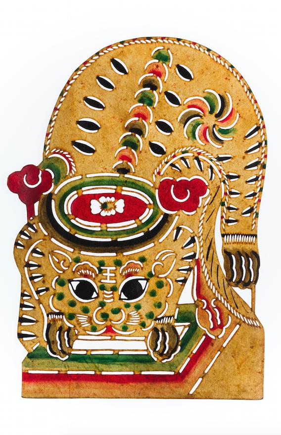 Marionnette d'ombres chinoise, 19-20ème siècle ©MaisondelaMarionnette