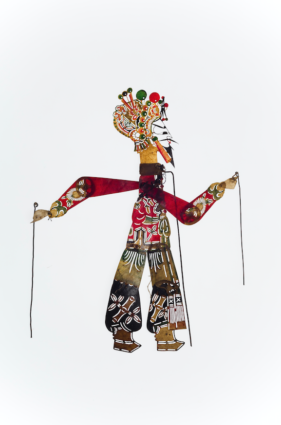Marionnette d'ombre chinoise 19-20ème siècle ©MaisondelaMarionnette