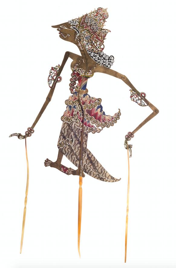 Wayang Kulit Indonésie 20ème siècle ©MaisondelaMarionnette