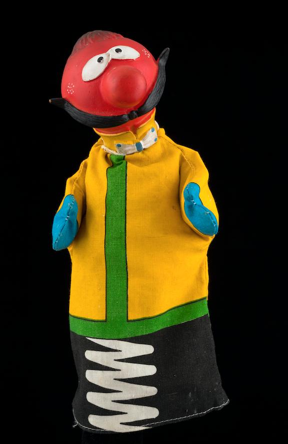 Marionnette à gaine Zébulon - Hainaut 20ème siècle ©MaisondelaMarionnette