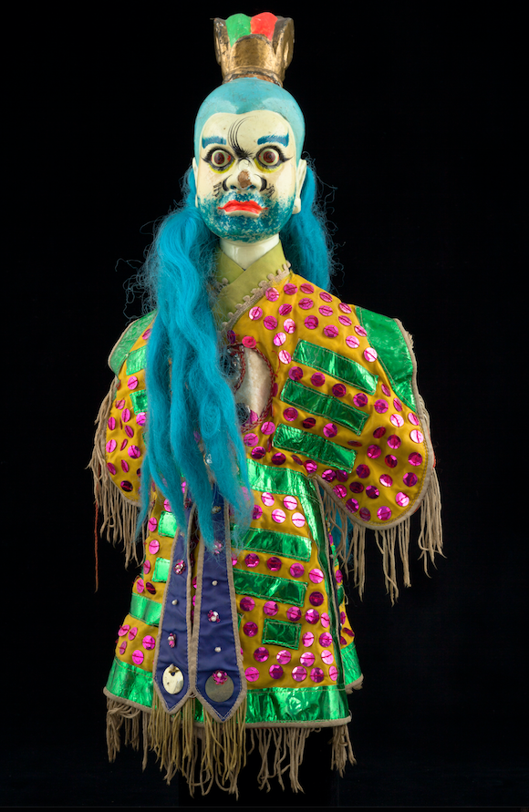 Marionnette à gaine chinoise - 20ème siècle ©MaisondelaMarionnette
