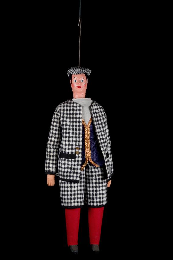 Woltje, marionnette à tringle de Bruxelles- 1905 ©MaisondelaMarionnette