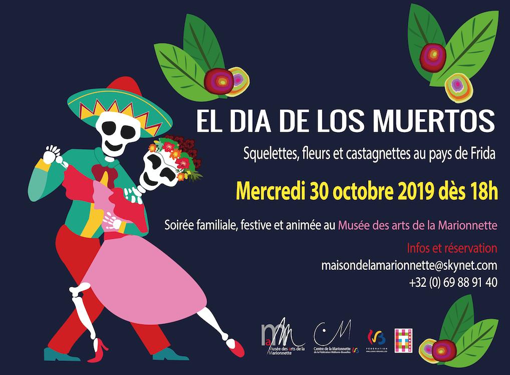Halloween El dia de los Muertos au Musée des arts de la Marionnette