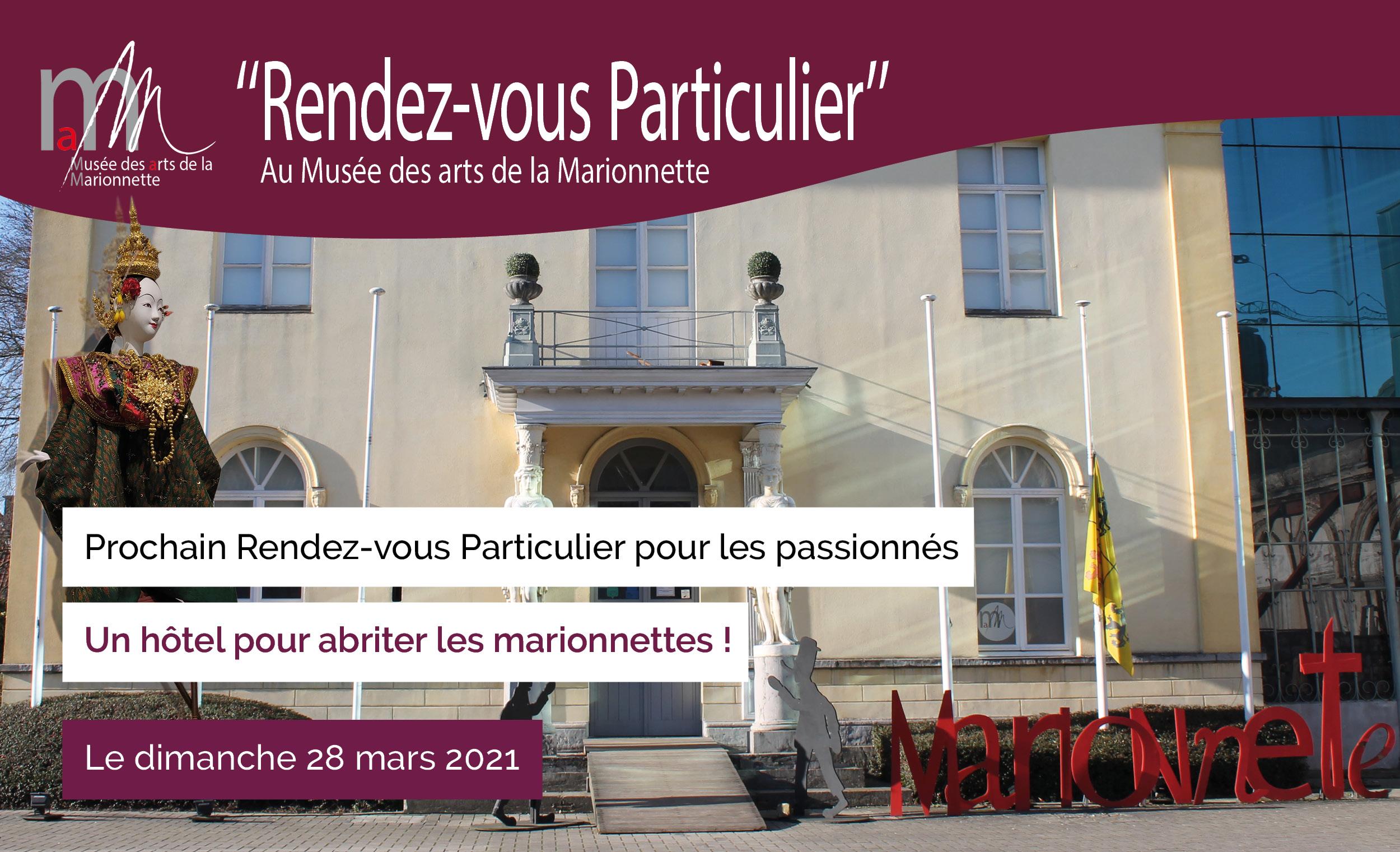 RDV particulier Viens faire ton Jacques au Musée !