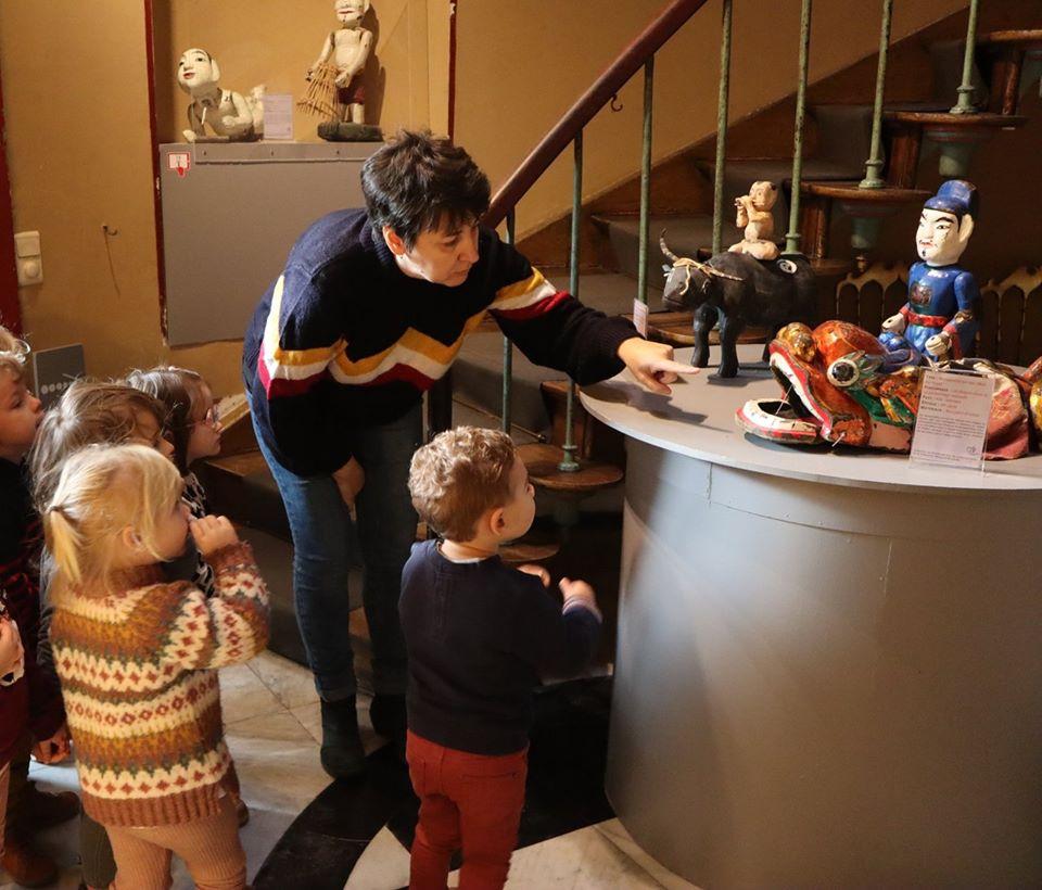 Visite Tidou marionnette